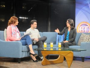 Suzannah Baum on Breakfast Television Montreal, March 2014